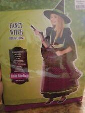 Witch Dress Up Halloween Child Medium Costume #242