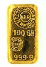 100 g Gold-Barren