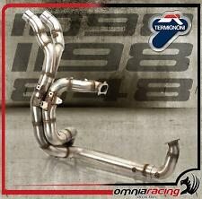 Termignoni D118 Kit sammler 2:2 Racing stahl d.70mm Ducati 848 / 1098 07>14