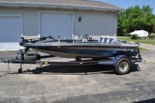 1988 Dixie Malibu Slingshot 640 fishing boat with trailer no motor