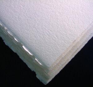 Fabriano Tiepelo  ( CMF)   290 g  1/2 sh  38/56 100 % Cot  White  Pk 8  Shts
