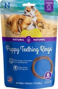 N-Bone Puppy Teething Ring - Pumpkin