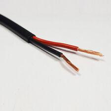10 METRI x 2.0mm2 thinwall Twin Core 2 CORE DUE Cavo rosso//nero 25 AMP FILO