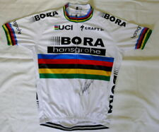 Peter Sagan signed 2017 World Championship Bora-hansgrohe cycling jersey Proof