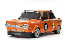 Tamiya 58649 NSU TT Jagermeister RC Car Kit - DEAL BUNDLE with STEERWHEEL Radio