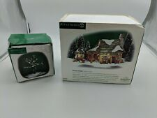 Dept 56 Dickens Village McShane Cottage 58444 & Craggy Oak tree +1 other tree