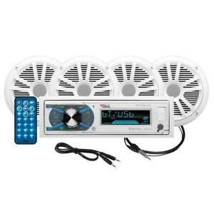"""Boss Audio MCK632WB.64 Package AM/FM Digital Media Receiver; 2 Pairs of 6.5"""""""