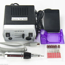 New Professional Electric Nail File Drill Manicure Tool Pedicure Machine Set Kit