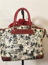 Disney x Dooney and Bourke Comic Collection Mickey Mouse Satchel Red