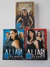 3x Alias - Die komplette 2 + 3 + 4 Staffel - DVD Sammlung