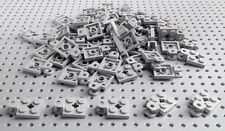 Lego Light Bluish Grey 2x2 Plate with Towball Socket (63082) x10 *NEW Star Wars