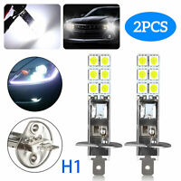 2PCS NEW H1 6000K Super White 55W CREE LED Headlight Bulbs Kit Fog Driving Light