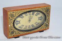 Russian Soviet USSR СССР Vintage clock Винтаж часы
