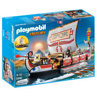 Playmobil History Roman Warriors Ship 5390 NEW