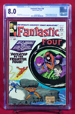 FANTASTIC FOUR #38 (Marvel 1965) CGC 8.0 VF Wecome the Trapster!!!
