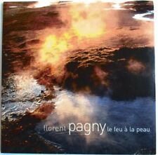 """FLORENT PAGNY - CD SINGLE PROMO """"LE FEU À LA PEAU"""""""