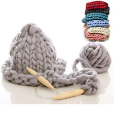 Thick Bulky Wool Yarn Soft Chunky Hand Knitting Hat Scarf Blanket Arm Knit 260g