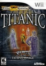 TITANIC Hidden Mysteries (NEW Nintendo Wii Game) FREE US SHIPPING