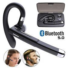 Bluetooth Ohrhörer Kabellos Einohr Kopfhörer mit Mikrofon Stereo Auto Headset