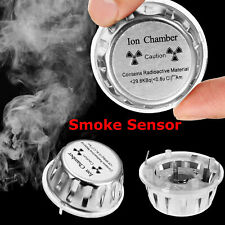 Ion Chamber Metal Geiger Fire Alarm Security System Source Smoke Detector Sensor