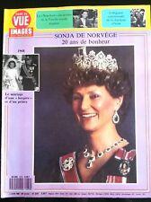 Point de Vue 3/6/1988; Sonja de Norvège/ En 1968; Mariage d'une bergère et d'un