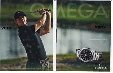 OMEGA  2014 watch magazine ad print page clipping advert RORY McILROY golf