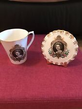 Queen Elizabeth II Mug And Small Plate