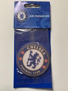 2 x Official Chelsea FC Football Club Car Air Freshener Badge Logo New Sealed