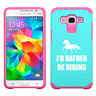 For Samsung Galaxy Core Grand Prime Shockproof Hard Case I'd Rather Riding Horse