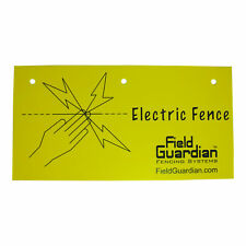 Field Guardian Electric Fence Warning Sign 665202  814421011343