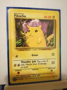 POKEMON/Karten/Pikachu-Base(58/102)EN