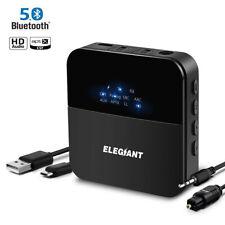ELE Wireless bluetooth 5.0 Transmitter Receiver 3.5mm HIFI Music Adapter AUX RCA