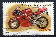 TIMBRE FRANCE OBLITERE N° 3516 MOTO / DUCATI 916 / Photo non contractuelle