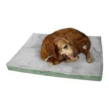 Aeromark Large Memory Foam Dog Mat in Sage green & grey M06HHL/HS-L New