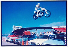 Refrigerator Magnet- 2 1/2 X 3 1/2 inches - Evel Knievel