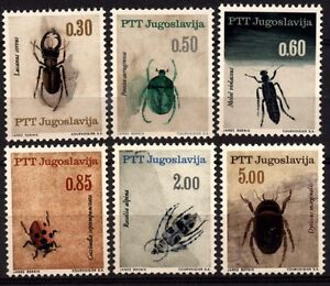 2391 YUGOSLAVIA 1966 INSECTS **MNH