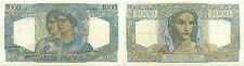 FRANCE 1000 FRANCS MINERVE & HERCULE 29.6.1950 ALPHABET E.669 RARE