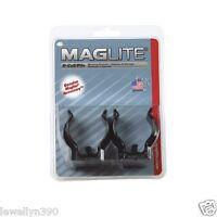 Maglite Flashlight D -Cell ASXD026 MOUNTING BRACKET 2 pack  Maglight  NEW!!
