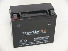 H-D YTX20-BS Motorcycle Battery for Harley-Davidson 883cc XLH Sportster 1996