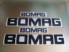 BOMAG DUMPER / ROLLER / WACKER DECALS STICKERS