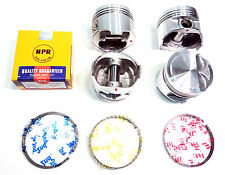 (Std) Premium Piston/Ring Kit for Toyota 1.5L 92-97 Paseo, 95-98 Tercel 5E DOHC