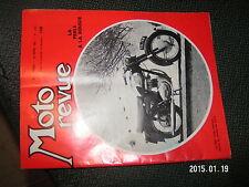 Moto Revue n°1584 49cc espagnol à 107km/h M.Jacquemin Twin BSA Pontage bougie