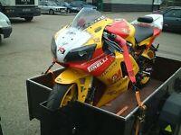 R&G Racing MOTORCYCLE / MOTORBIKE TIE DOWN 25mm RATCHET STRAPS   Pair   ST0699