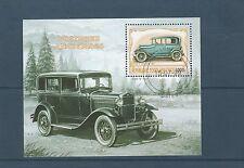 Togo bloc  automobile ancienne      de 1999   num:  328G  oblitéré
