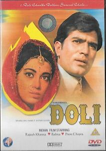 DOLI - RAJESH KHANNA, BABITA - BRAND NEW BOLLYWOOD DVD -WITH ENGLISH SUBTITLES