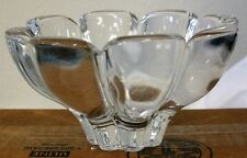 Heavy Clear Glass Decorative Candy Dish