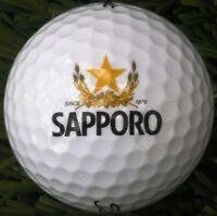 3 Dozen (Sapporo Beer Logo) Titleist Pro V1 /V1x Mint / AAAAA Used Golf Balls