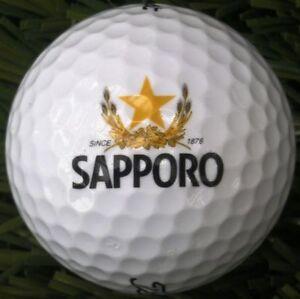 3 Dozen (Sapporo Beer Logo) Titleist Velocity Mint / AAAAA Golf Balls
