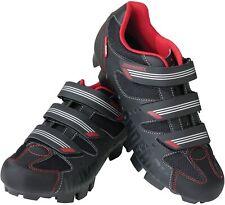 Diamondback Men's Overdrive Clipless Mountain Cycling Shoe, 9.5 US - Black