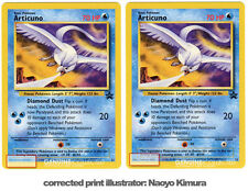 Articuno Corrected Naoyo Kimura Pokemon Card Wizards Movie Black Star Promo #22